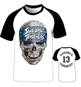 Camiseta Raglan Suicidal Tendencies Crossover Thrash