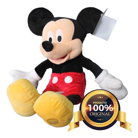 Pelúcia Mickey 45 Cm Original Disney Store