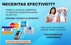 Prestamos Dinero.. Al Instante..con Tarjeta De Credito