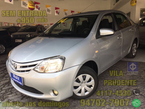 Toyota Etios 1.5 16v Xs 4p Sedan Sem Entrada + 950 Mensais