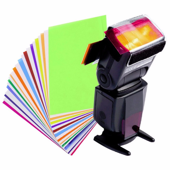 Difusor Colorido P/ Flash Speedlight
