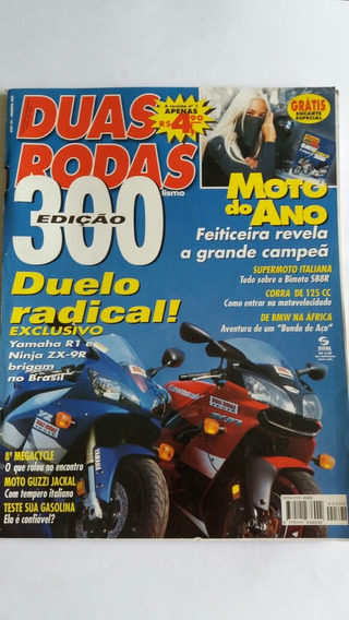 Revista Duas Rodas N°300 Set/2000 Zx-9r/r1