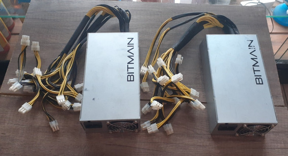 Fuente Poder Antminer Apw3++1600w S9 L3 A3 D3 T9 Cable Orig