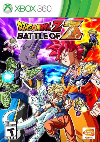 ..:: Dragon Ball Z Battle Of Z ::.. Para X Box 360 En Game C