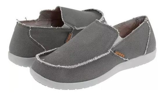 Crocs Santa Cruz Light Grey Charcoal