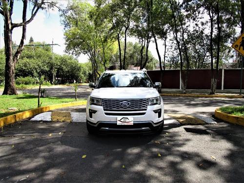 Imagen 1 de 15 de Ford Explorer Platinum 2018/ 28 Mil Km F.agencia Único Dueño