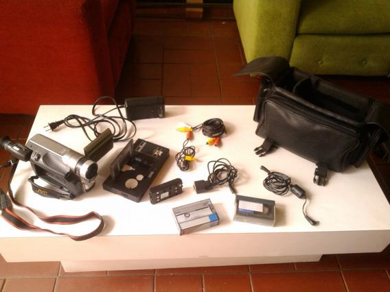 Camara Filmadora Jvc 400 X Digital Zoom Super Vhs Gr-sxm920