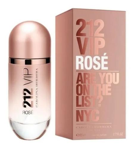 Perfume Locion 212 Vip Rose Esencia 96% - mL a $950