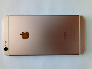 Carcaça De iPhone 6s Rosa Original C/ Bateria/flex..