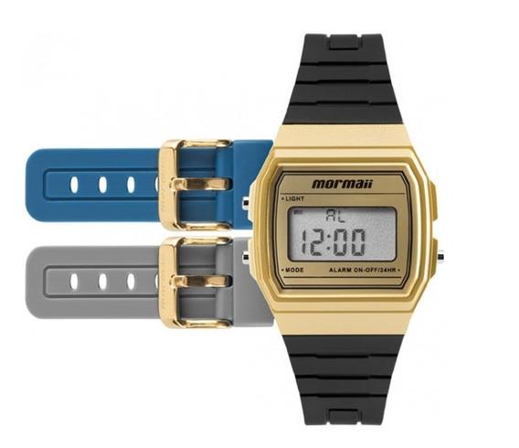 Relógio Mormaii Unissex Mojh02af/8d-troca Pulseira Promoção