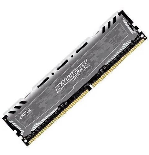Kit Memoria Ram 4 Gb Crucial 2400 Mhz Ddr4 (x2)