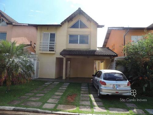 Casa Com 3 Dormitórios À Venda, 173 M² Por R$ 760.000,00 - Granja Viana - Cotia/sp - Ca1131