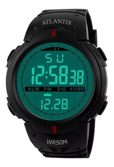 Relógio Masculino Esportivo Cronômetro Digital Prova D Água