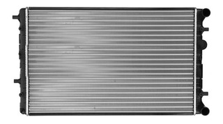 Radiador De Motor Ctc Volkswagen Gol Trend 1.6 L 8v Msi 20