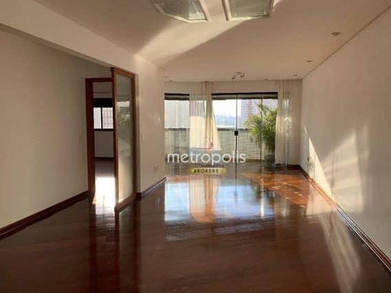 Apartamento Com 3 Dormitórios À Venda, 125 M² Por R$ 600.000,00 - Barcelona - São Caetano Do Sul/sp - Ap2525