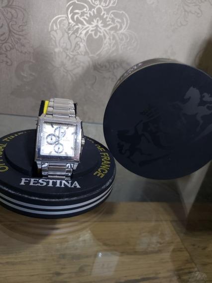 Relógio Festina F16393 (prata)
