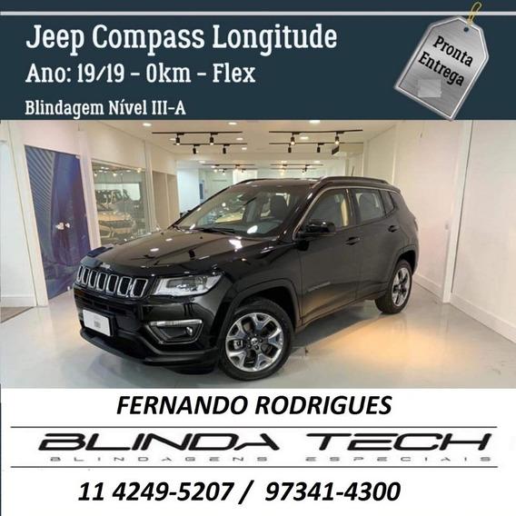 Jeep Compass 2.0 Longitude Flex Okm - Blindado