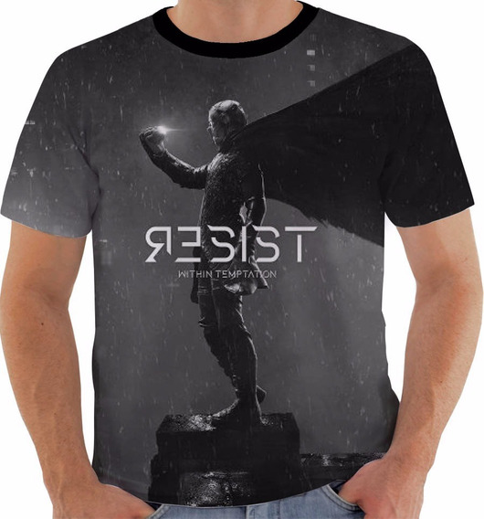 Camiseta 2396 Within Temptation Resist New Album Pb