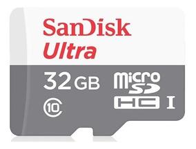 Cartão Sandisk Sdhc Ultra 48mb/s Classe 10 32gb Sd Original