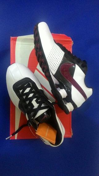 Tenis Nike Shox Deliver Branco/vermelho/preto Original