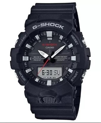 Relogio Casio G-shock Ga-800 1a Preto 12x S Juros Ga 800