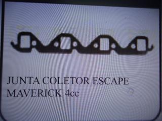Junta Coletor De Escape Ford Maverick / Mustang 4cil