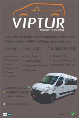 Aluguel De Van - Vip Tur Transporte E Turismo (62)98338 0673