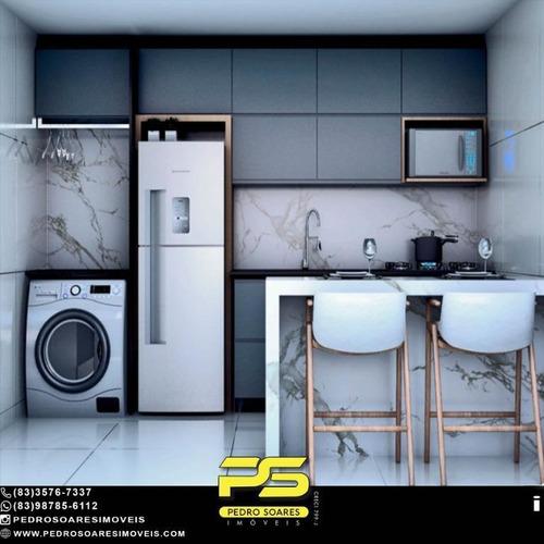 Imagem 1 de 4 de Apartamento Com 2 Dormitórios À Venda, 50 M² Por R$ 139.000,00 - João Paulo Ii - João Pessoa/pb - Ap4996
