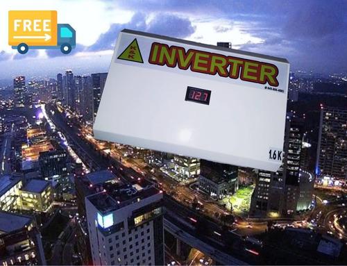 Inversores De 1.6kilos 12vdc Ups Series ( Inverter De Bajo C