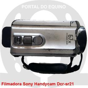 Câmera Sony Handycam Dcr-sr21