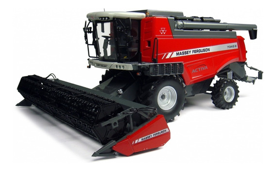 Colheitadeira Miniatura Massey Ferguson 7345s - Escala 1/32