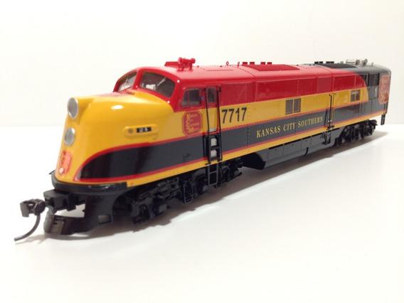 Awu Tren Ho Maquina Proto E6 7717 Kansas C.mexico Dcc Sonido
