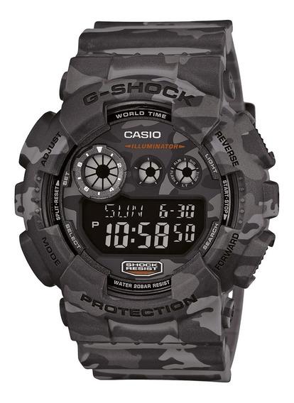 Relógio Casio Digital Masculino G-shock Gd-120cm-8dru+brinde