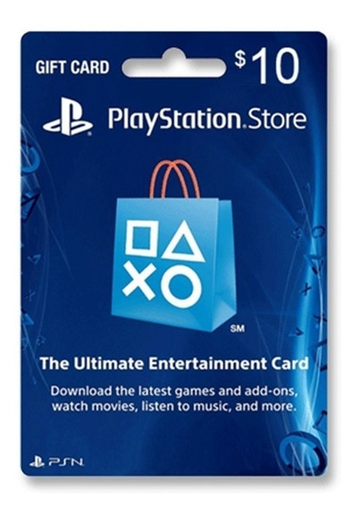 Psn Card 10 Usd Ps4 Ps3 | Digital Usa - Gamestone