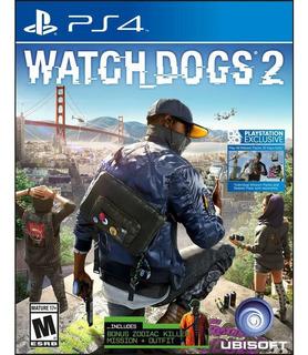 Ps4 Watch Dogs 2 Usado Físico