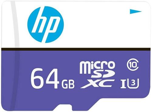 Imagen 1 de 4 de Hp Memoria Micro Sd 64gb Clase 10 Uhs 3 Mx330 4k Ultra Hd