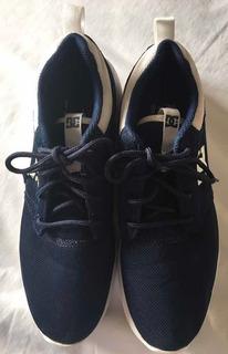 Zapatillas Dc Midway Azul Oscuro Hombre. Nro. Us 8 / 40.5.
