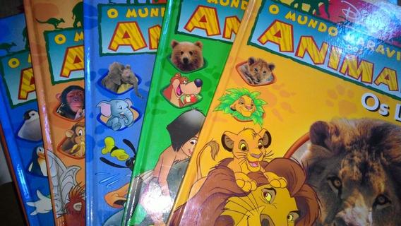 Coleção O Mundo Maravilhoso Dos Animais Volumes 1 Ao 14,