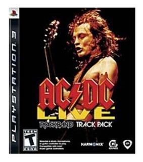 Juego Acdc Ac Dc Rock Band Ps3 Nuevo Blakhelmet E