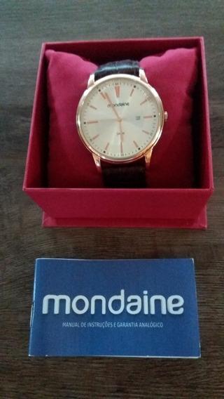 Relógio Masculino Mondaine (novo)frete Grátis