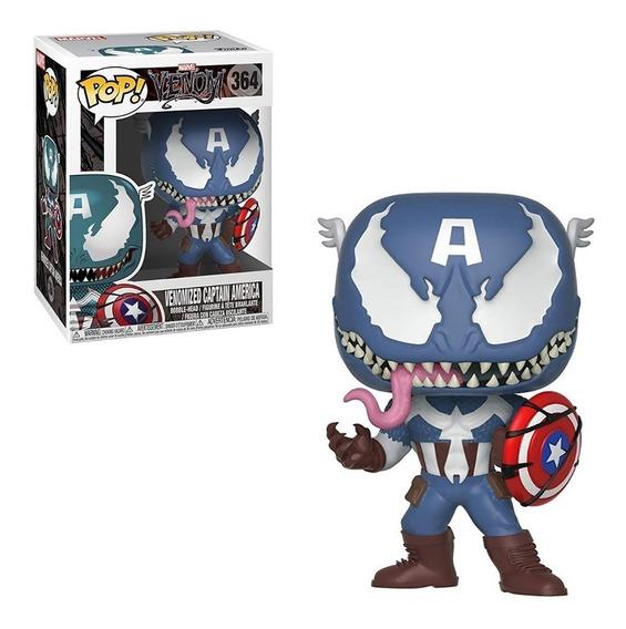 Funko Pop Marvel - Venomized Capitan America 364
