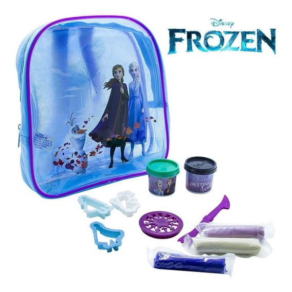 Mochila Infantil Com Acessórios Frozen