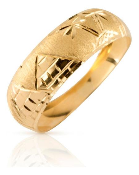 Anel Escrava Egípcio Ouro 18k Amarelo Presente Ac27