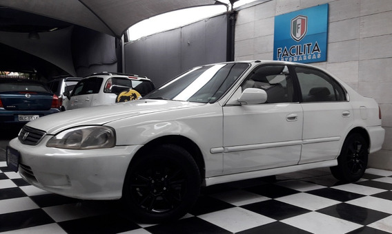 Honda Civic Lx 1.6 Mecânico Gasolina Completo
