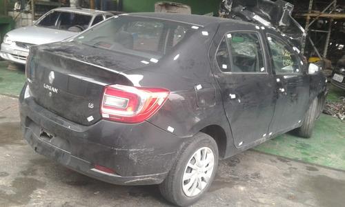 Imagem 1 de 7 de Sucata Renault Logan Expr 16 M 1.6 8v 2015