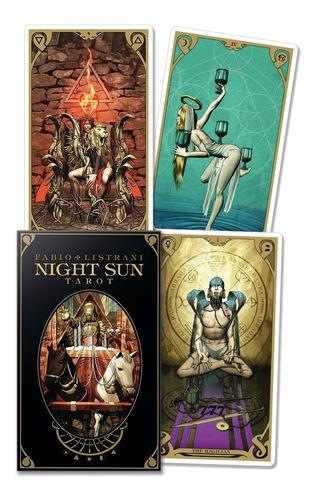Imagen 1 de 4 de Night Sun Tarot, Tarot De Sol Nocturno,  Esta En Ingles