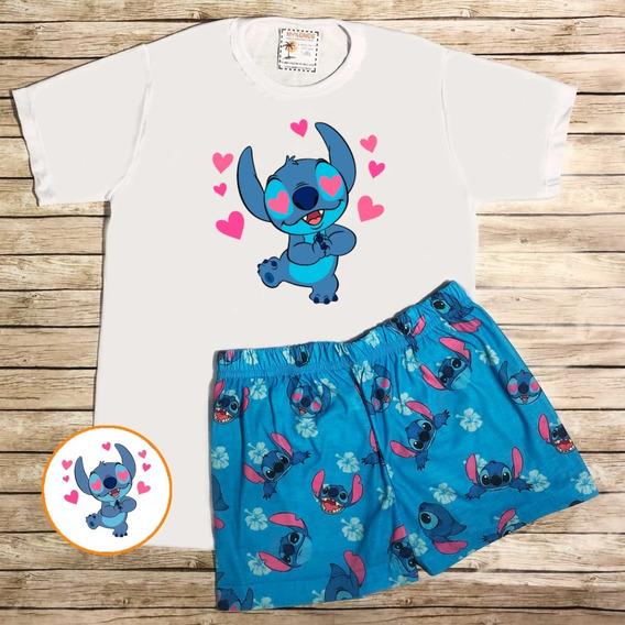 Pijama De Verano Stitch - Store Mykonos