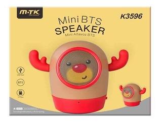 Mini Parlante Reno Cuernos Mtk K3596 Kids Chicos Niños