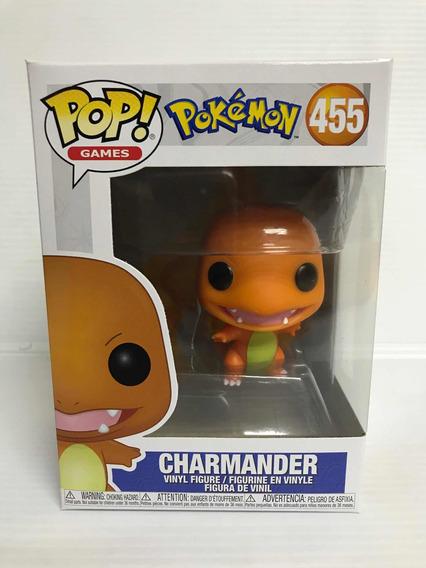 Funko Pop 455 Pokemon Charmander Nuevo Original