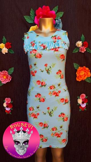 Vestido De Dama Estampado